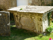 Picture of Damaged Bale Tomb Bourton on the Water