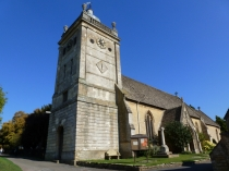 Picture of Saint Laurence's Church Bourton on the Water