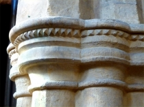 Picture of Nailhead Decoration to Early English Capitals