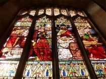 Picture of Victorian Stained Glass Window