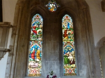 Picture of Lancet Winows in St Edwards Church Stow on the Wold