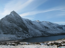 Picture of North Ridge of Tryfan in Winter