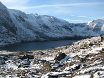 Picture of A view of Y Garn and Llyn Ogwen