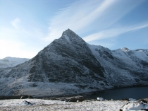 Picture of A snowy view of Tryfan