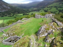 Picture of Layout of Castell-y-Bere