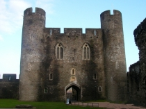 Picture of Caerphilly Castle