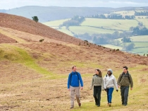 Picture of Walkers on the Offas Dyke Path
