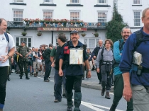 Picture of Walkers in Llanwrtyd Wells