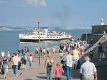 Picture of Balmoral Paddle Steamer at Porthcawl