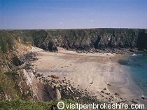 Picture of Caerfai Bay Beach
