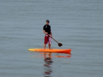 Picture of Stand Up Paddling on Colwyn Bay Beach