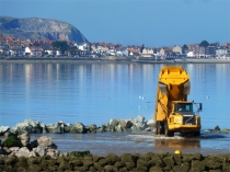 Picture of Porth Eirias -The Beginning