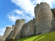 Picture of Conwy Castle Towers
