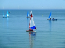 Picture of Sailing in the Bay of Colwyn