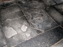 Picture of Slate Slab Floor North Wales