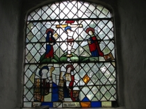Picture of Ancient Stained Glass Window