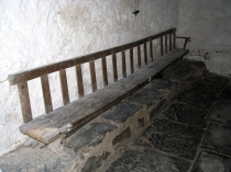 Picture of Old Welsh Church Bench