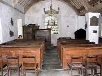 Picture of Church Benches and Pulpit