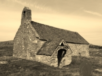 Picture of Llangelynin Old Church