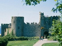 Picture of Manorbier Castle