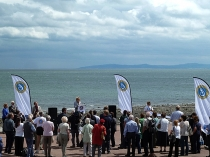 Picture of Opening Ceremony of the Wales Coast Path