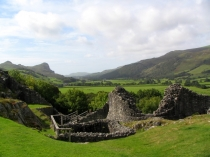 Picture of Castell y Bere and the Dysynni Valley