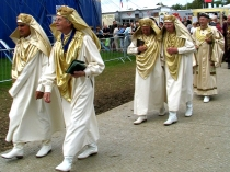 Picture of Parade of Druids and Bards in Eisteddfod