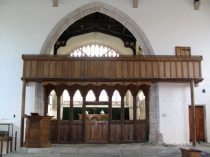 Picture of Choir Screen in St Bueno's Church