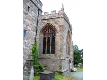Picture of North Wall of St Beuno's Church