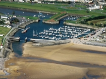 Picture of Aerial View of Burry Port Marina
