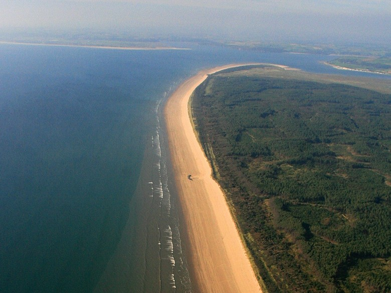 Picture Of Pembrey Forest And Cefn Sidan Sands