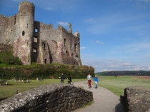 Picture of Laugharne Castle Walls