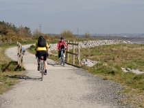 Picture of Cycling on the banks of the Loughor