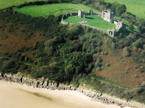 Picture of Llansteffan Castle