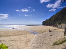Picture of Llansteffan Beach