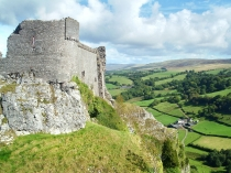 Picture of Walls of Carreg Cennen Castle