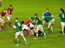 Picture of Wales v Ireland Rugby at Eirias Park