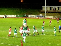 Picture of Wales versus Ireland International Rugby Colwyn Bay