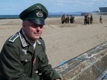 Picture of Germans on Colwyn Bay Beach