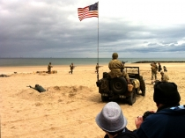 Picture of Battle Re-enactment on Colwyn Bay Beach