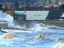 Picture of Storm at Porth Eirias 2013
