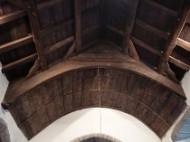 Picture of Arched Collar Brace Roof at Llanelian yn Rhos Church