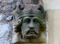Picture of Stone Carving of Kings Head