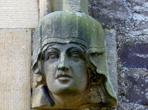 Picture of Stone Carving of a Queens Head