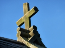 Picture of Finial on Saint Benedicts Church, Conwy, North Wales