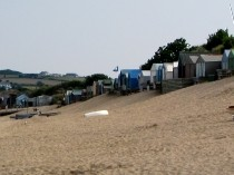 Picture of Beach Huts on Abersoch Beach