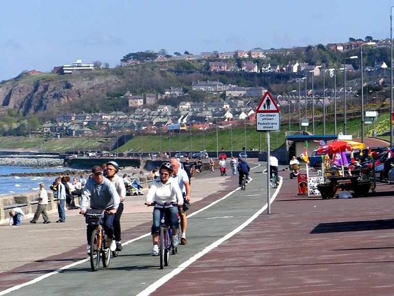 Quot North Wales Cycle Path On The Colwyn Bay Travel Guide Quot