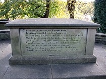 Picture of Elihu Yale's Tomb