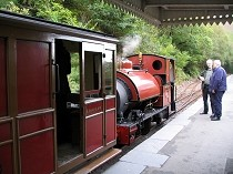 Picture of Abergynolwyn  Railway Station on the Talyllyn Line
