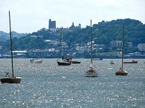 Picture of View from Beaumaris Pier toward Bangor